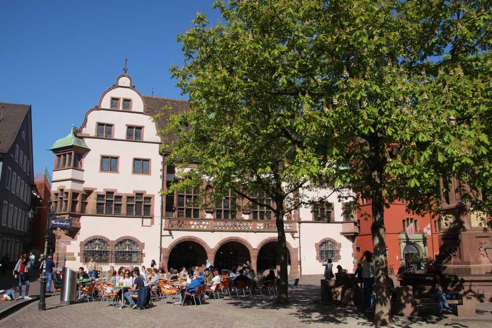 Hôtel de ville de Fribourg - Rathausplatz
