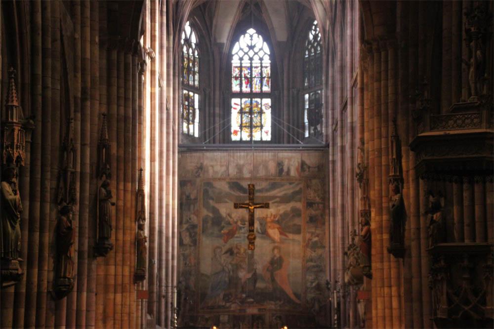Visite guidée statuaire cathédrale de Fribourg