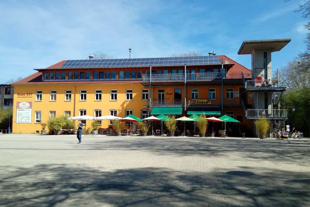 Visite guidée quartier Vauban de Fribourg