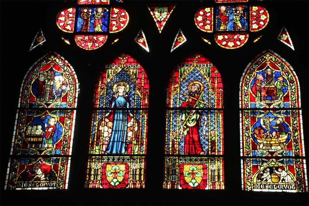 Visite guidée vitraux cathédrale de Fribourg